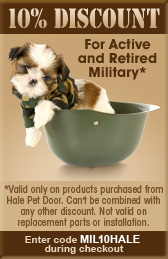10% discount for active and retired military