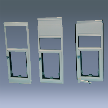 Hale Pet Door In Glass Panel Window Models