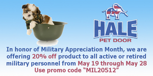 Military discount promo hale main