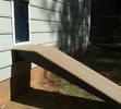Doggie Door with Ramp Installation