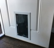 White Doggy Door