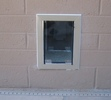 Hale Pet Door Wall Dog Door Block Wall Installation