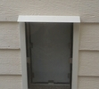 Vinyl Siding Pet Door Installation