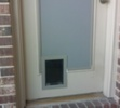 French Door Installation with Opaque Glass