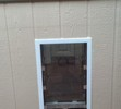 Framed Wall Installation Through Siding