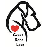 Great dane love