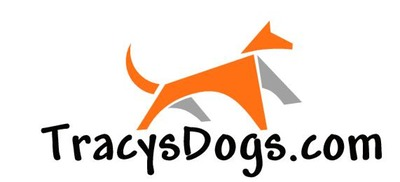 Tracysdogs logo med hr