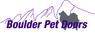 Boulder Pet Doors