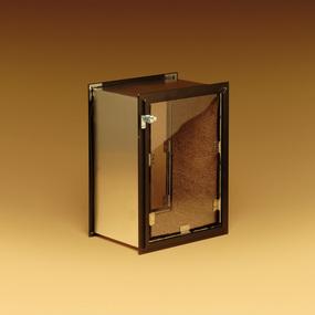 ... Dark Bronze Frame Wall Pet Door