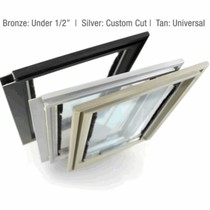 Three versions of Hale Pet Door Screen Model Pet Doors