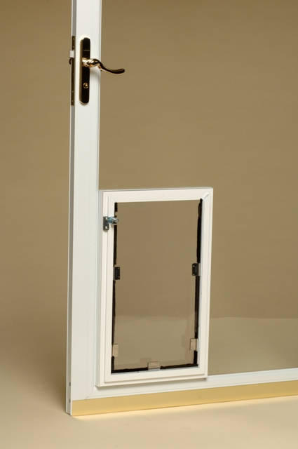 Hale Pet Door In Glass Model