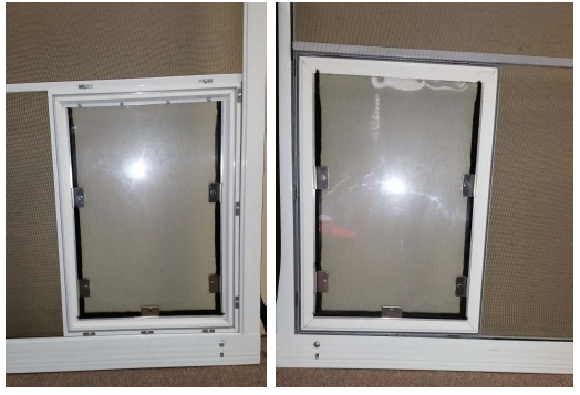 Universal Screen Model installed with stabilizer bar
