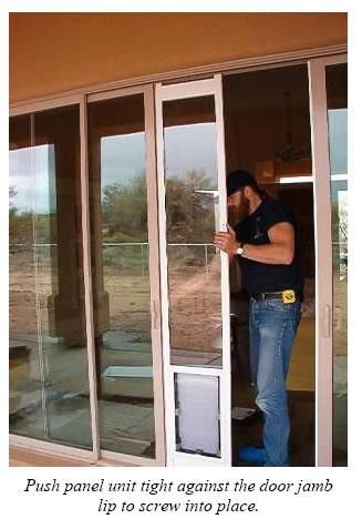 Hale Pet Door Installation Instructions