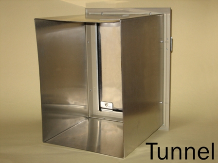 Hale pet door tunnels - Interior door with pet door installed ...