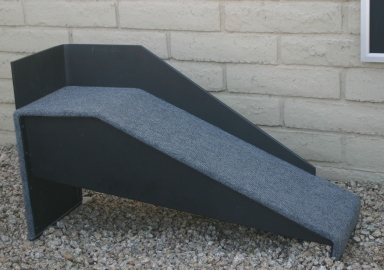 Hale Pet Door self standing ramp with optional railing
