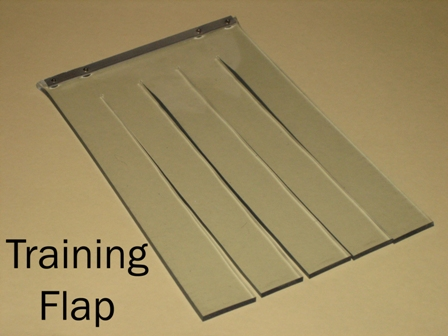 Hale pet door standard panel pet door for Dog door flap material